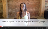 Online Yoga Course for Beginners